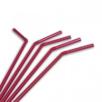 Flexible Straw ⌀6x230mm - Red | 10000pcs