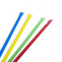 Spoon-Straw ⌀7x210mm - Assorted Colours | 250pcsx10pkts