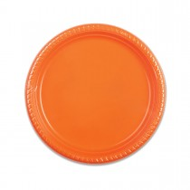 Plastic Plate ⌀22cm - Citrus | 25pcsx20pkts