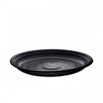 Roundpac Round Plate ⌀26cm - PP/Black Deluxe | 25pcsx10pkts