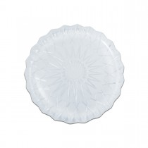 Cristalpac Crystal-Like Plastic Platter ⌀27x2cm - PS | 10kgs