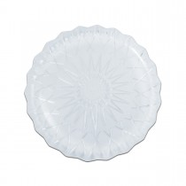 Cristalpac Crystal-Like Plastic Platter ⌀30x2cm - PS | 10kgs