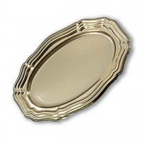 Royal Oval Louis xiv Platter 46x31cm - Gold | 50pcs