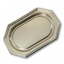 Royal Octagonal Platter 46x31cm - Gold | 50pcs
