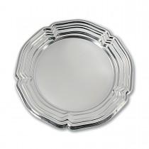 Royal Round Louis xiv Platter ⌀34cm - Silver | 50pcs