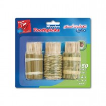 Fun® Toothpick   (150pcsx3)x24pkts