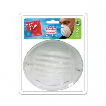 Fun® Standard Dust Mask | 5pcsx100pkts