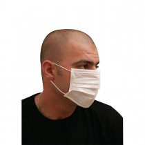 3-Ply Nonwoven Mask - White | 50pcsx20pkts