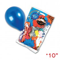 Fun® Balloons 10in - Metallic | 18pcsx25pkts