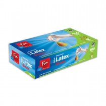 Fun® Disposable Latex Gloves - Medium | 100pcsx10pkts