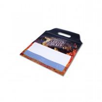 Plastic Ovenproof Sealable Chicken Bag w/ Handle 220x265+40mm | 1000pcs