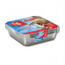 Fun® Aluminium Container w/ Lid 2410cc | 10pcsx20pkts