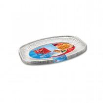 Fun® Oval Aluminium Platter 351x243x21mm | 5pcsx20pkts