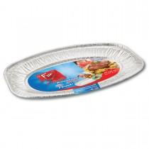 Fun® Oval Aluminium Platter  548x359x24mm | 1pcx50pkts