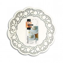 Fun® Round Doily ⌀8.5in - White | 250pcsx8pkts