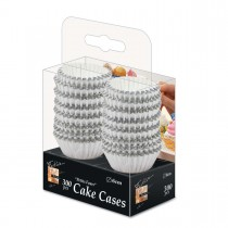 Fun® Paper Cake Case ⌀6cm - Silver | 300pcsx32pkts