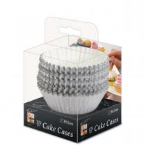 Fun® Paper Cake Case ⌀10.5cm - Silver | 125pcsx32pkts