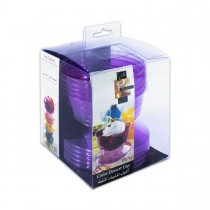 Fun® Coloured Dessert Cup - Plum | 6pcsx24pkts