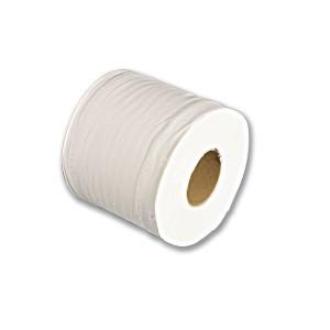 2-Ply Compact Toilet Paper Roll (500shts) - White | 12rlsx4pkts
