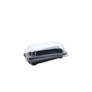 Tuttiblac Black Rectangular Container 165x90x43mm +Lid | 800Sets